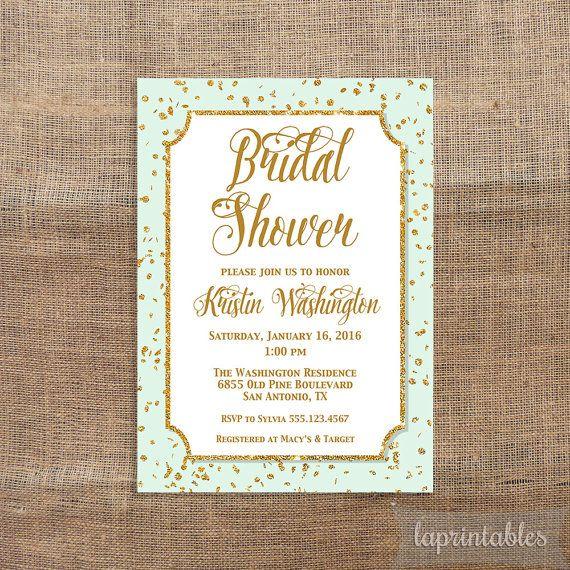 1000 Images About Blush Mint Bridal Shower On Pinterest