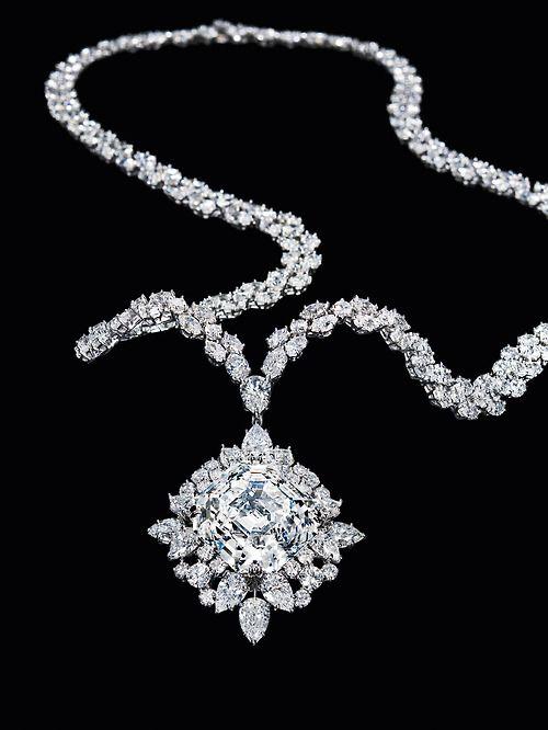 Lady Millionairess..diamond necklace                                                                                                                                                                                 More