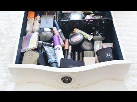 Mijn dagelijkse 'make- up lade' uitzoeken!