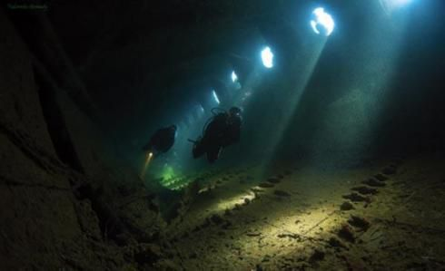 The Umbria shipwreck, The Red Sea