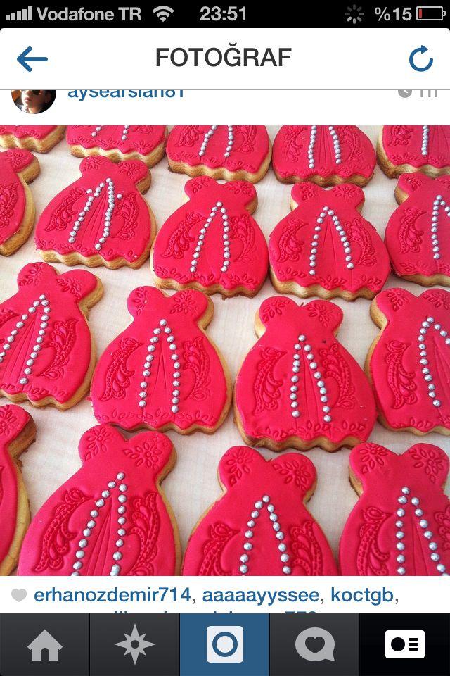Kına gecesi kurabiyeleri