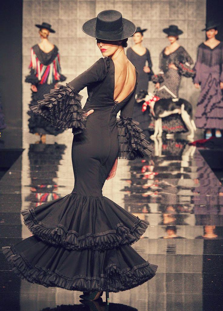 #SIMOF2015 Rocío Peralta #moda #flamenco #modaflamenca