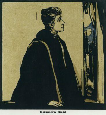 Nicholson, Sir William - NP.03 - Eleonora Duse
