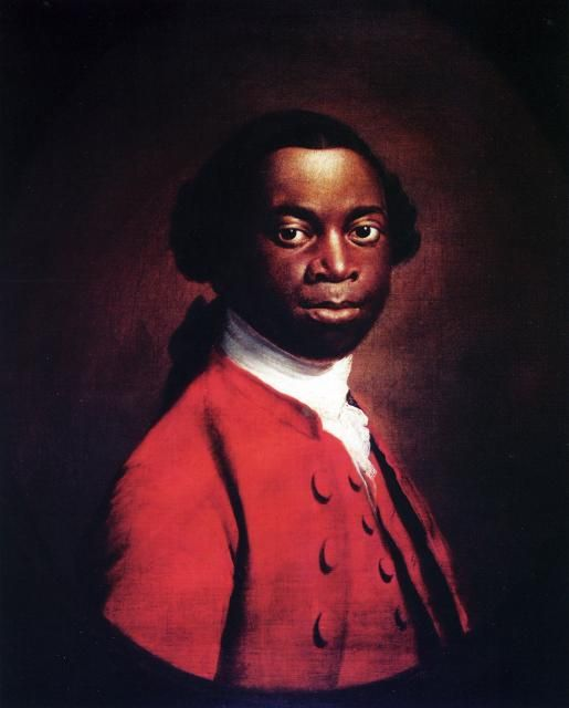 The Internet says this is Olaudah Equiano but apparently he probably isn't.