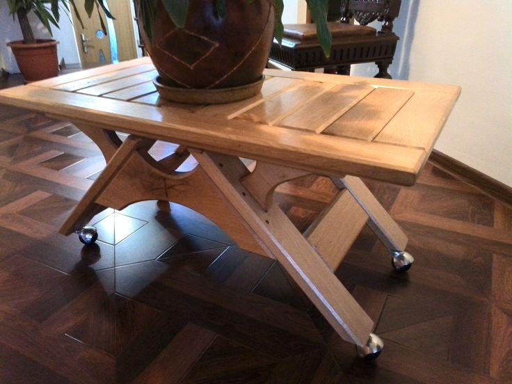 Coffee table Oak1
