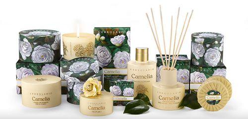 Camelia Parfüm illatcsalád Lerbolario Naturkozmetikumok Magyarország
