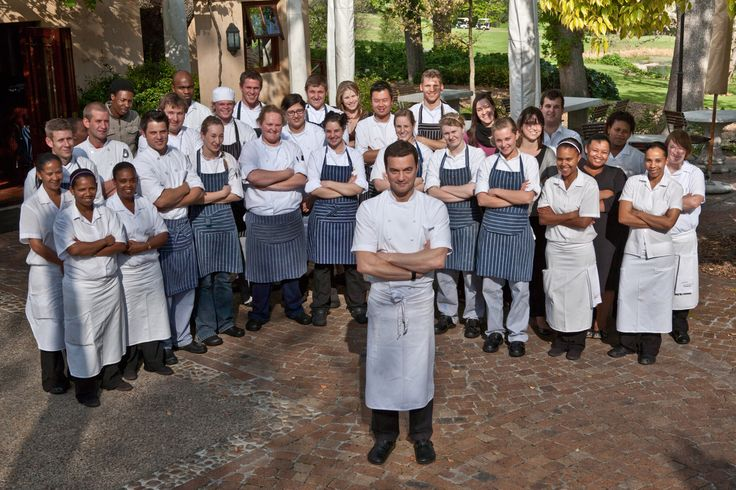 Chef Michael Broughton and the team at Terroir
