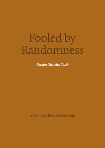 """From the author of the Black Swan books: Nassim Nicholas Taleb explores randomness and how it affects our lives and our investments. Does success result from skill or luck. """"If you're so rich, why aren't you so smart?"""""""