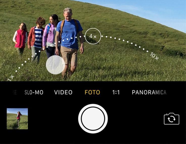 Con la doppia fotocamera ingrandisci come mai prima - Suggerimenti e trucchi di iOS 10 per iPhone - Supporto Apple