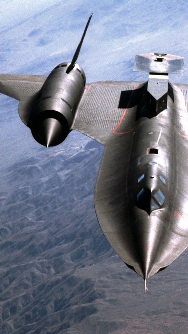 Lockheed, SR-71, Blackbird, jet, plane, aircraft, sky, U.S. Air Force