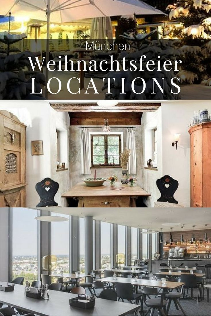 41 best Top 40 Weihnachtsfeier Location Mnchen images on Pinterest  Top 40 Xmas and Counseling
