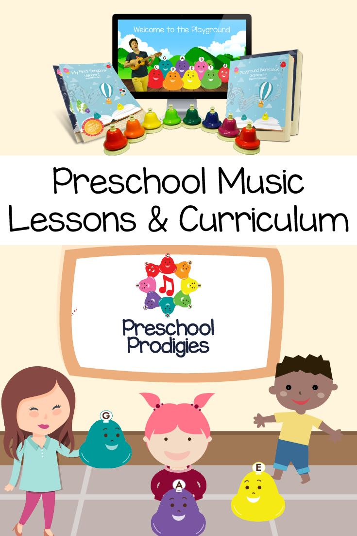 Preschool music lessons, curriculum, videos, activities, sheet music, preschool songs, worksheets, songbooks, coloring pages & more! Perfect for boomwhackers, bells, and other instruments! https://www.preschoolprodigies.com