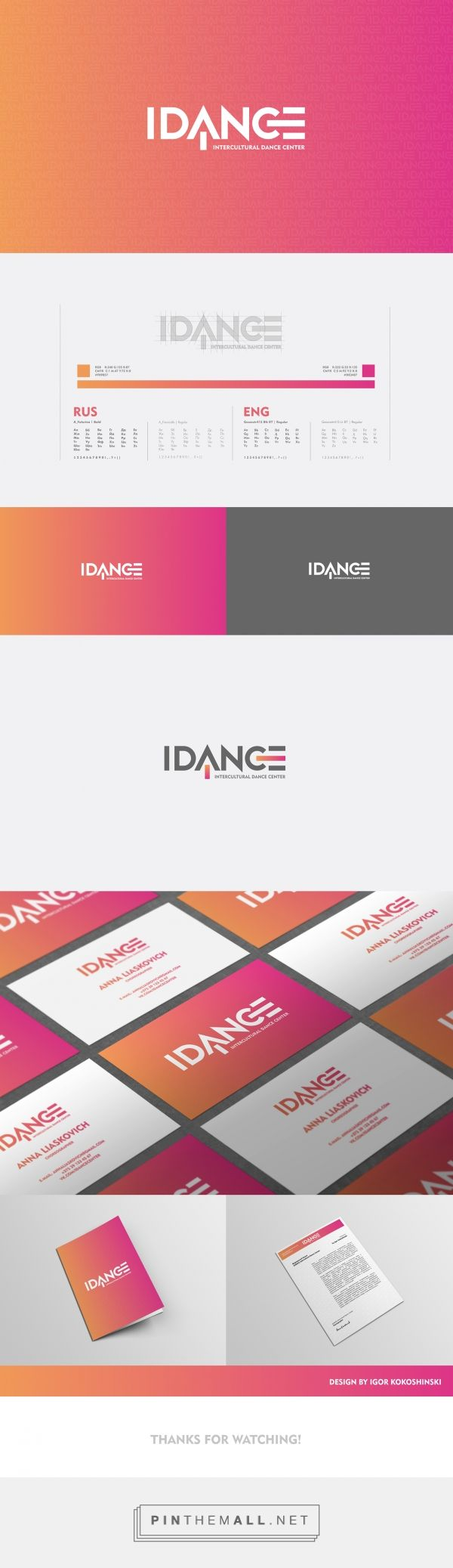 IDANCE Intercultural Dance Center on Behance - created via https://pinthemall.net