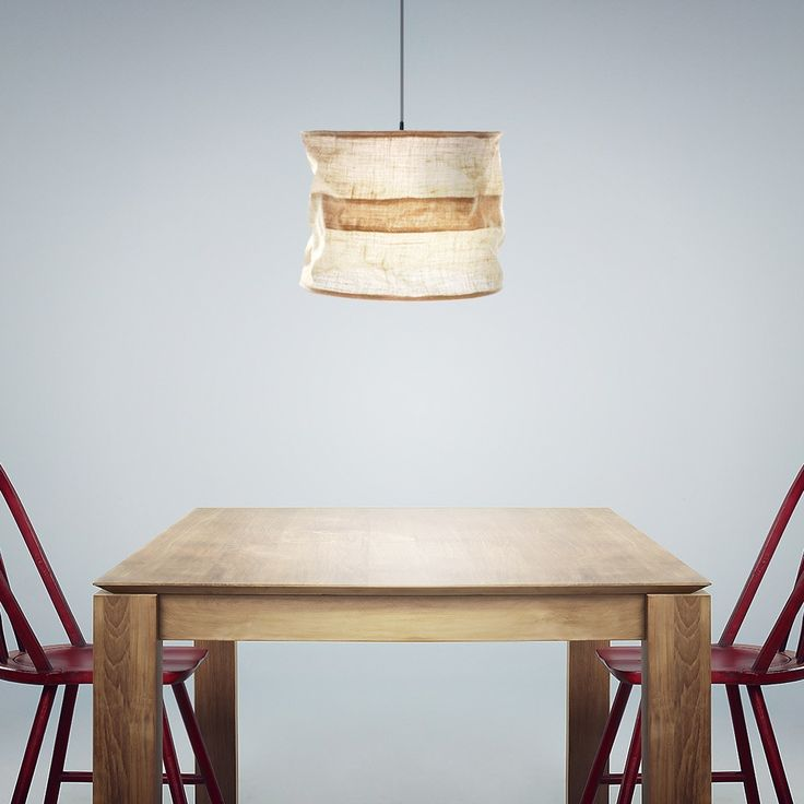 Natural take on  the standard drum shade pendant light, jute shade diffuses light beautifully for soft, ambient lighting. Various sizes available, in your choice of natural or off white