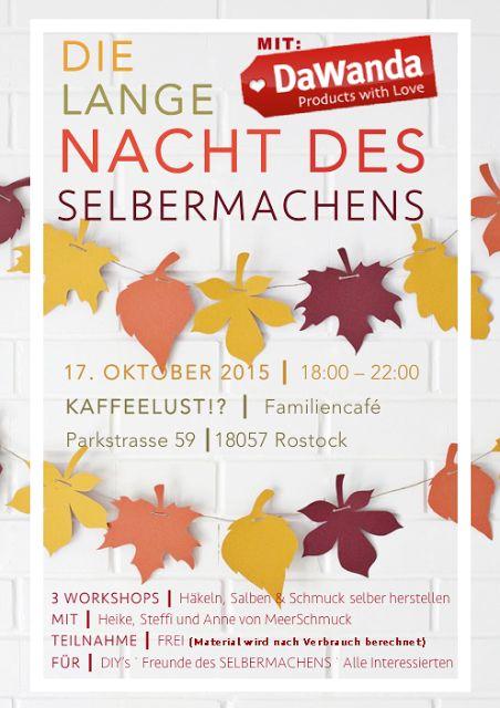 Schmuck mit MeerSchmuck am 17.Oktober 2015 im Workshop in Rostock herstellen