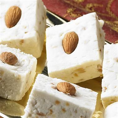 Vanilla Fudge with Almonds {McCormick}