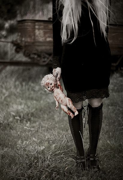 dark photography | blood, dark, girl, photography - inspiring picture on…