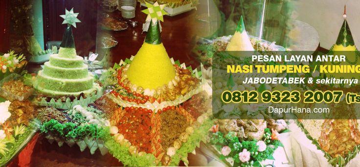 081293232007   Pesan Nasi Tumpeng Kuning di Bekasi Jakarta Depok Tangerang Bogor