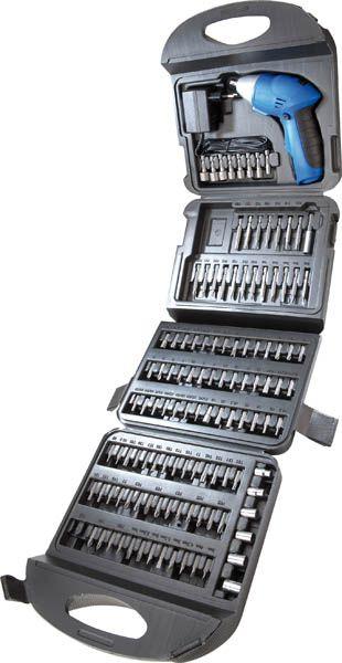 Akkuschrauber Set 118 tlg. mit Zubehör - Limited Edition -