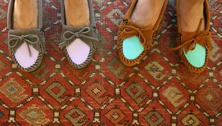DIY colorblock mocassins...: Dresses Up, Fall Shoes, Fall Projects, Colorblock, Custom Shoes, Blocks Moccasins, Diy Colors, Colors Blocks, Paintings Shoes