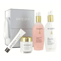 Sothys Hydration Skin Care Set contains four different Sothys products to help you hydrater and refine your skin.