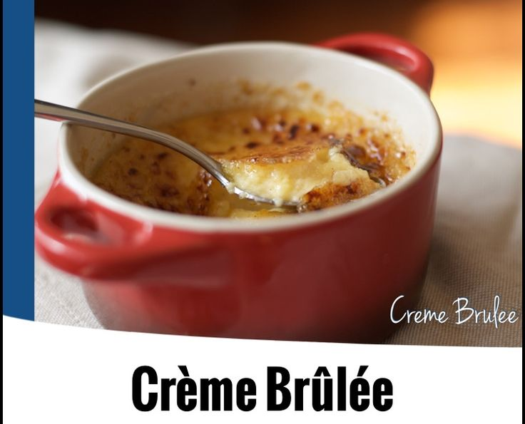 {Thermomix} Creme Brulee