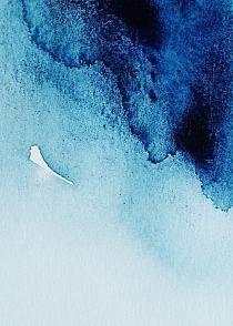 """Obraz na płótnie """"Blue ice texture"""""""