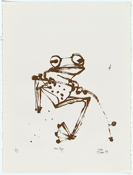 John Olsen, Tree Frog