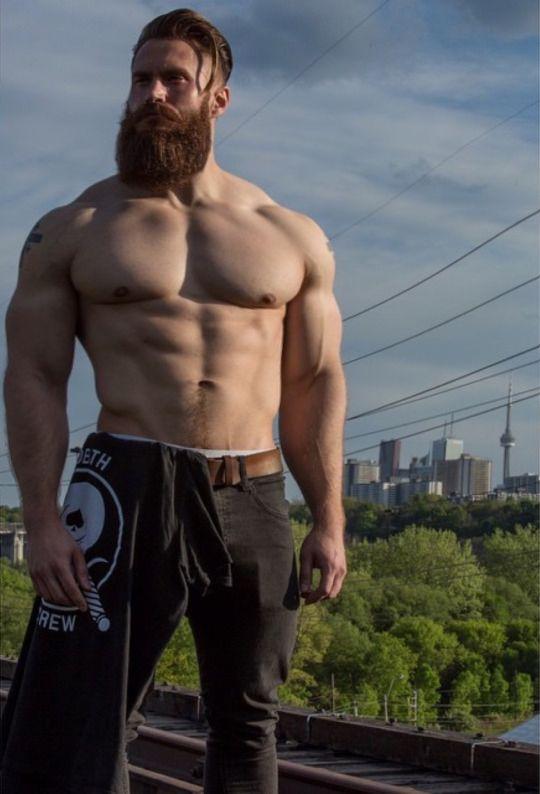 Awesome beard and body shape