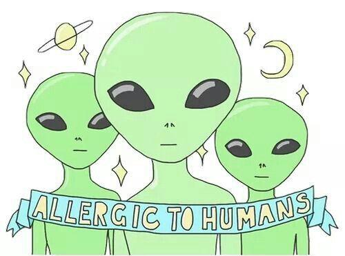 ( I believe in Aliens. | ☆ )