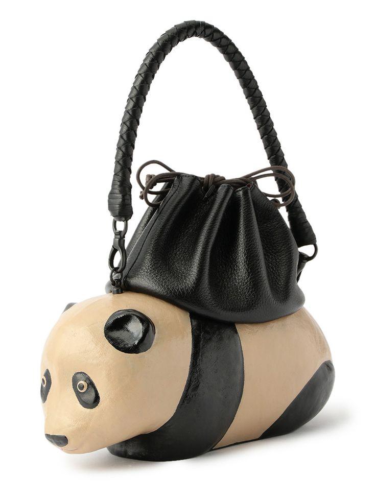 roomsJi-Ba|coshell2|張り子のバッグ ぱんだ 黒革|バッグ|075999|Shops|公式通販 アッシュ・ペー・フランスモール
