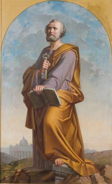 Saint Peter by Paul-Mathieu Novellini