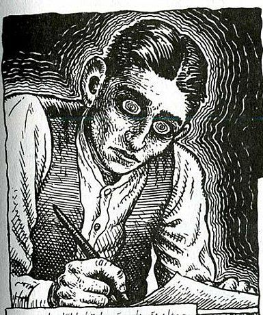 Introducing Kafka, R. Cumb illustration, 1993