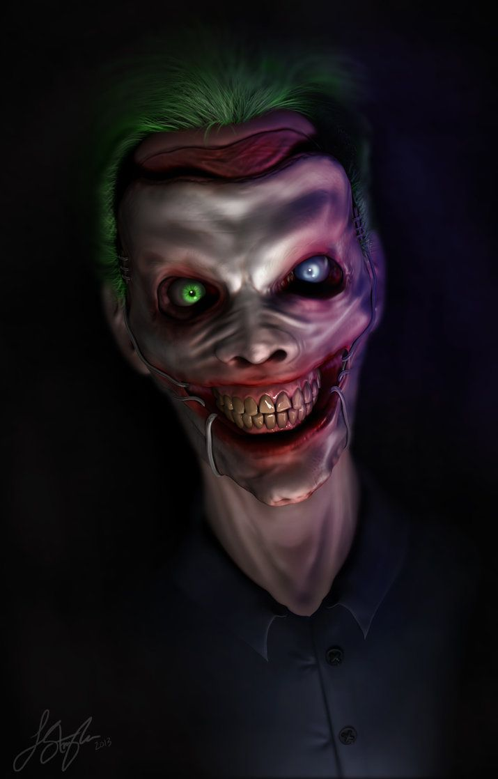 "comics-station: "" New52 Joker by liquid-venom Follow The Best Comics Artwork Blog on Tumblr """