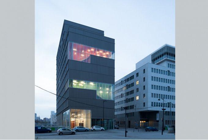 Résidence universitaire - Rue Nicole-Reine Lepaute, Paris XIIIe - D'architectures