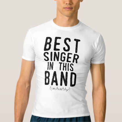 Best Singer (probably) (blk) T-shirt - mens sportswear fitness apparel sports men healthy life