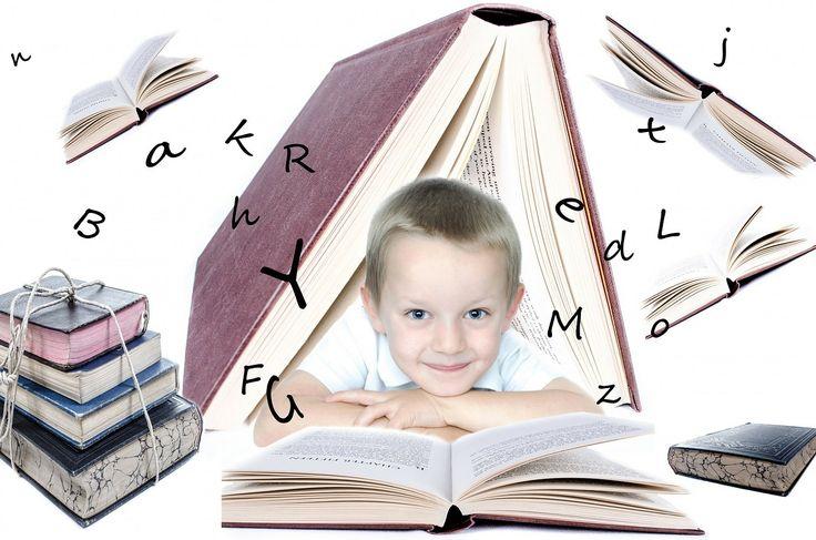 ilustración de niño leyendo
