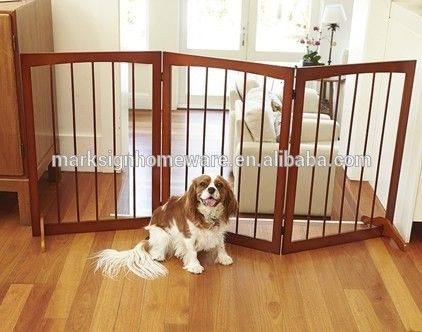 De madeira portão de estimação-imagem-Gaiolas, transportadoras e casas para animais de estimação-ID do produto:60176549621-portuguese.alibaba.com