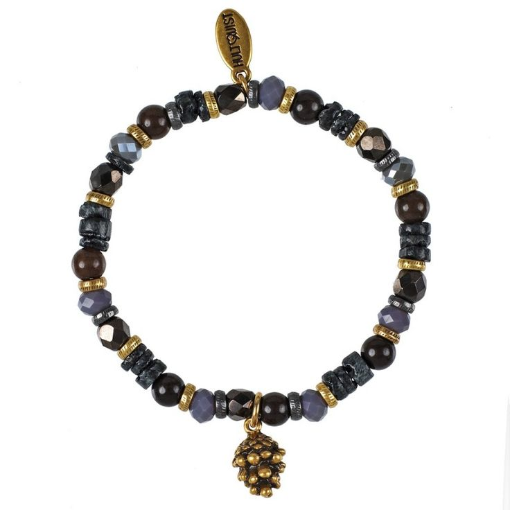 Hultquist-Copenhagen Fir Cone Elastic Bracelet