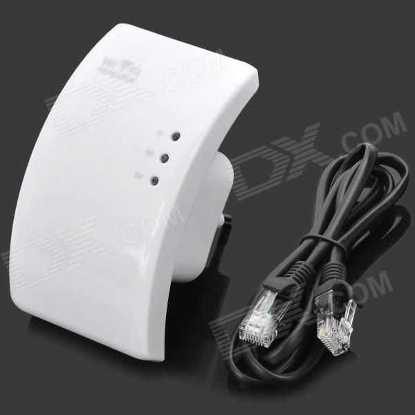 Repetidor Wi-Fi Amplificador de Sinal de Rede Sem Fio 300Mbps – Branco (Tomada EU)