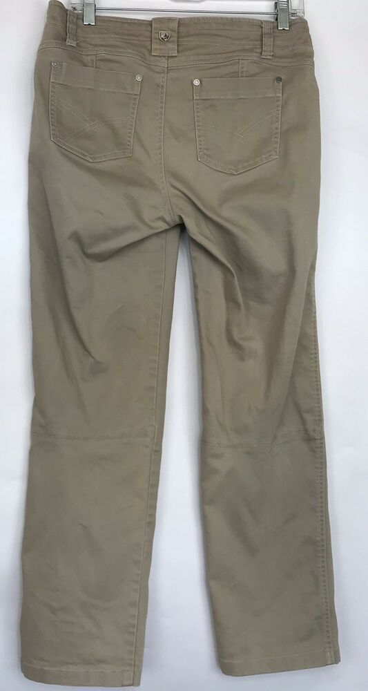 Women's Clothing Kuhl Womens Size 8 Hiking Pants Khaki Activewear