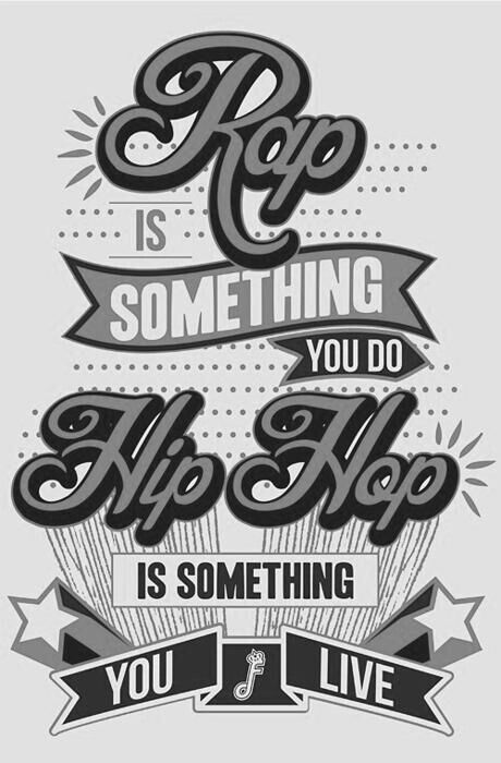 """Hip hop tattoo anyone? ;) ... Because it's """"something you live"""" #hiphoptattoos __  HipHop 