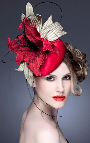 ♔ Guibert Millinery, Rock Me Rococo Collection.