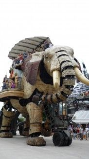 Elephant île de Nantes