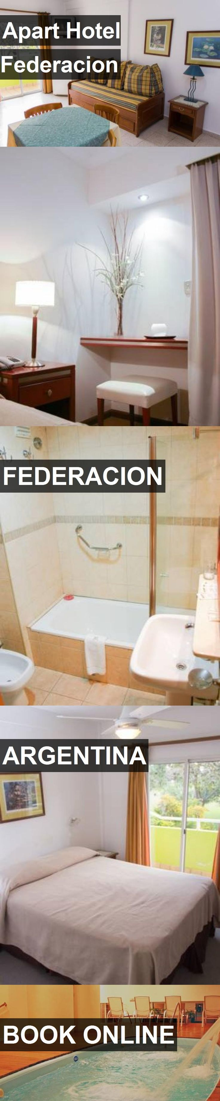 Apart Hotel Federacion in Federacion, Argentina. For more information, photos, reviews and best prices please follow the link. #Argentina #Federacion #travel #vacation #hotel