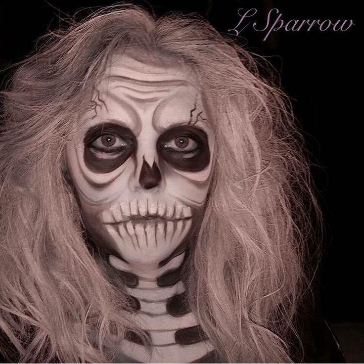 My scary skeleton creation! ~ follow me @ Facebook- L.Sparrow Designs ~ Instagram @LSPARR212