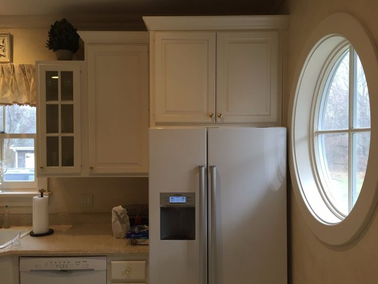 Kitchen Cabinets - Linen White - Legacy Cabinets