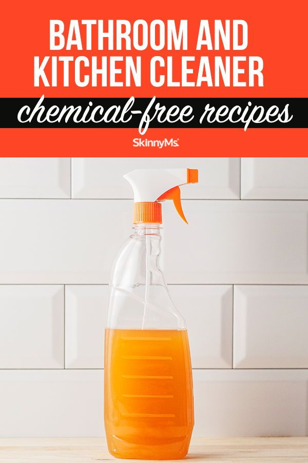 Bathroom And Kitchen Cleaner Chemical Free Cleaning Recipes In 2020 Chemical Free Cleaning Recipes Kitchen Cleaner Chemical Free Cleaning