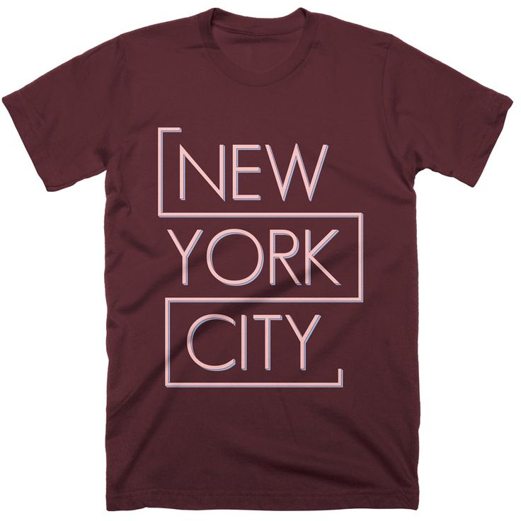 100% COTTON T-SHIRT  NEW YORK CITY