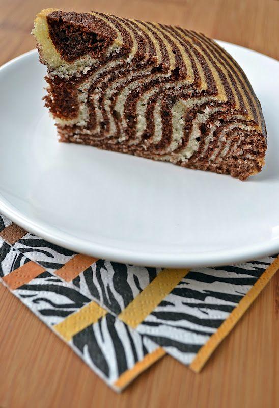 Dit recept voor de zebra cakevan Lorraine Pascale vonden we op de blog Kell's Kitchen en…